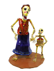 Adelita and Son Skeletons