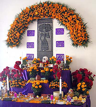 Image result for day of the dead altars