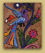 Amate Paper Paintings