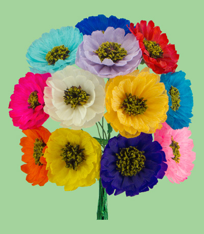 Mexican paper flowers to go to the paper dahlias page please click on this link mightylinksfo