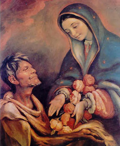 Guadalupe Virgin and Juan Diego