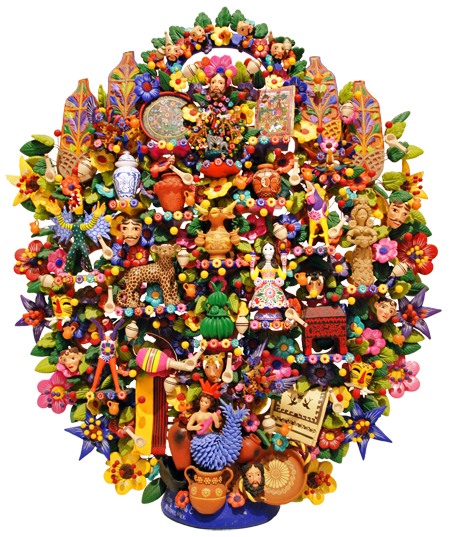 Mexican folk art meaning and brief history for Mexican arts and crafts for sale