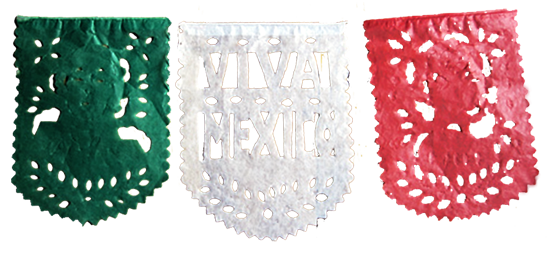 Papel picado Independence Day