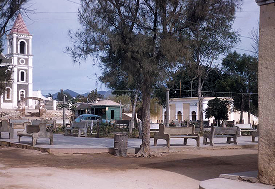 San Jose Square in 1957