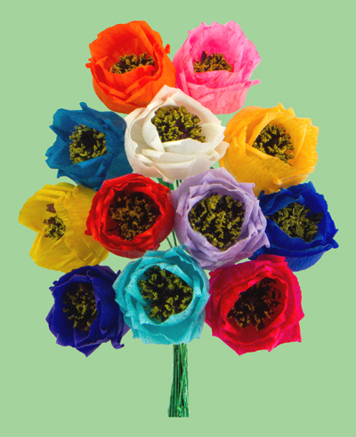 Mexican paper flowers to go to the paper roses page please click on this link mightylinksfo