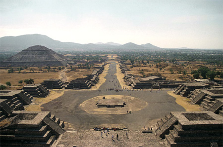 Teotihuacan Arqueological Site.