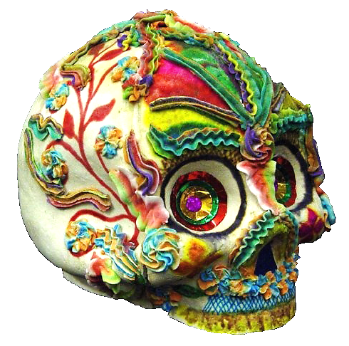 Wenceslao Rivas sugar skull