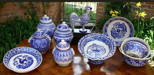 Mexican pottery history and different styles - La faience talavera art unique mexique ...