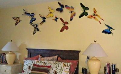 Butterflies in my Bedroom